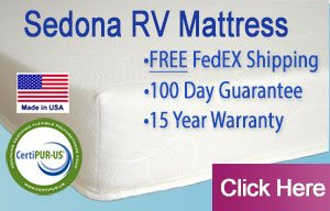 The Sedona RV Mattress