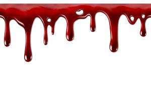 blood on mattress