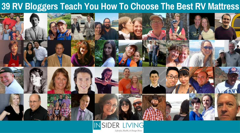 39 RV Bloggers Teach You How To Choose The Best RV Mattress