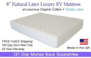 natural latex rv mattress