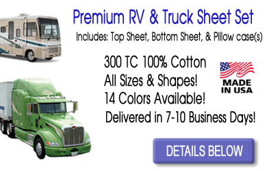 RV and Truck Sheet Set