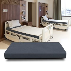 hospital bed mattress in front
