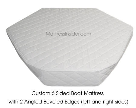 Custom boat mattress