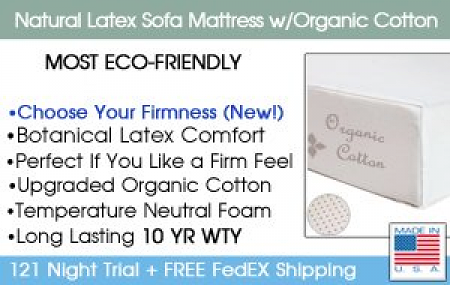 Natural Latex Sofa Mattress Details