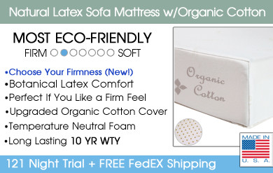 sofa mattress with latex