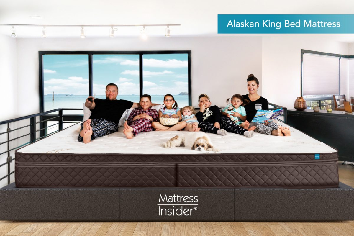 Alaskan King Bed Mattress with Family