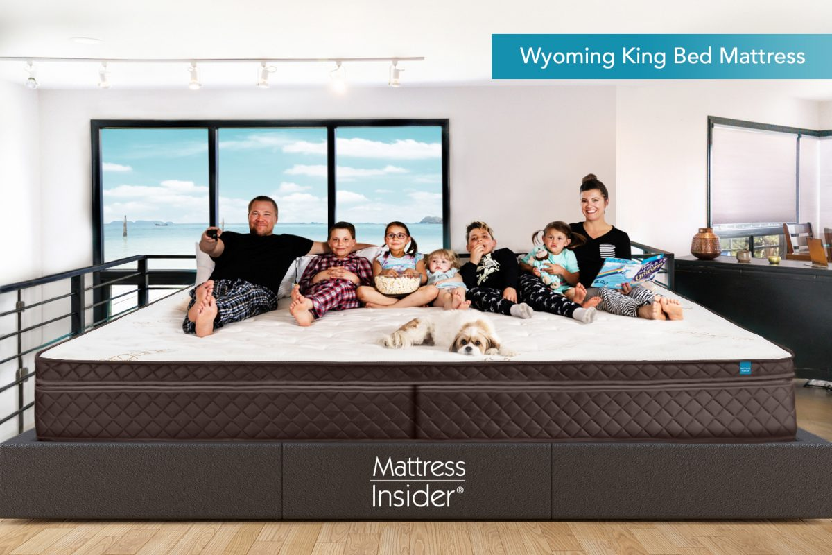 Wyoming King Bed Mattress with Family