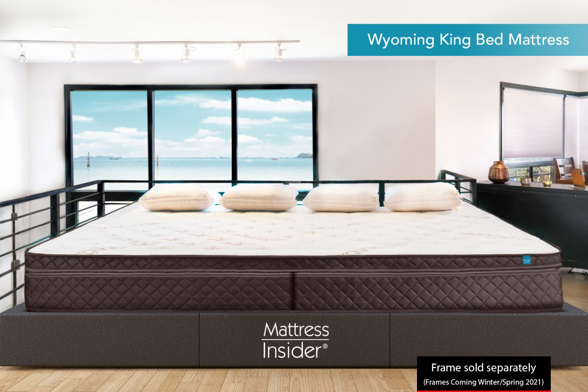 Wyoming King Bed Mattress Frame