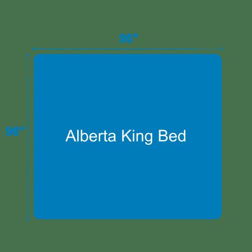 Alberta King Bed Dimensions