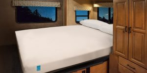 Aspen Gel Mattress in RV