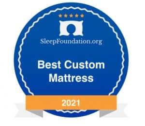 best custom mattress badge