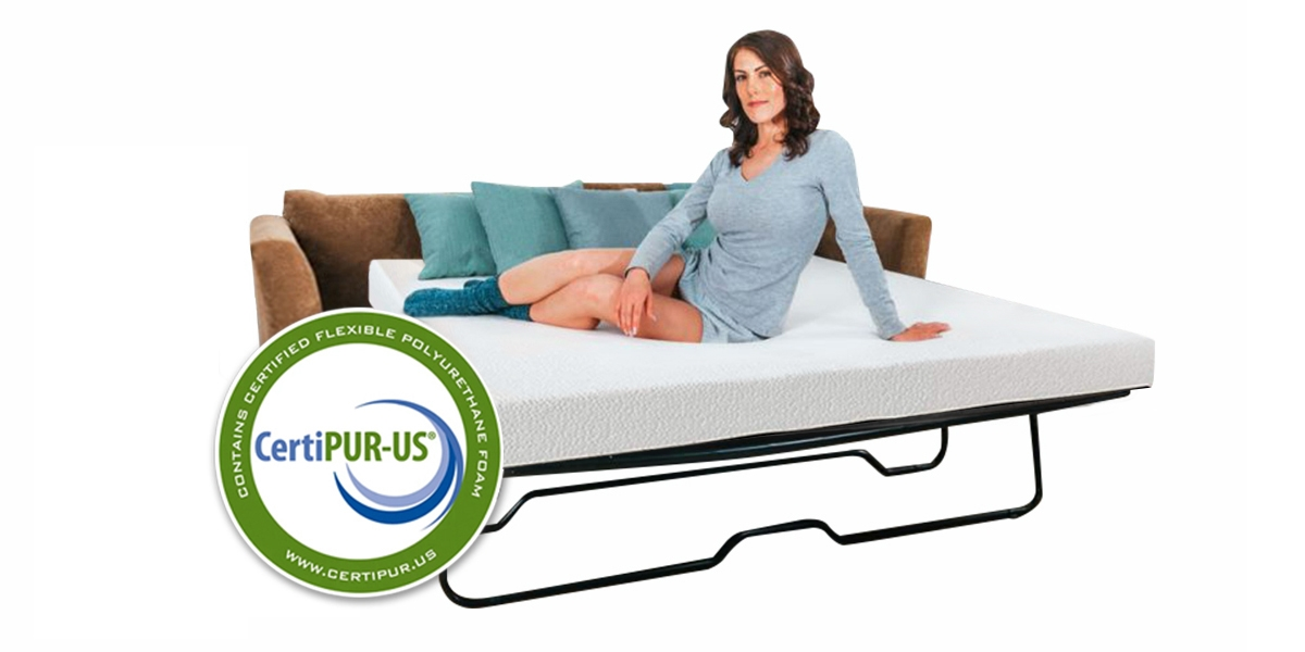 Cool Meadow Sofa Mattress with Model