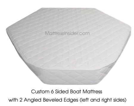 custom boat mattress