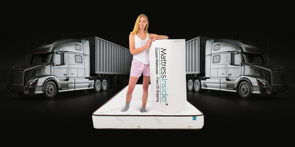 Elation Gel Foam Truck Mattress w/Organic Cotton