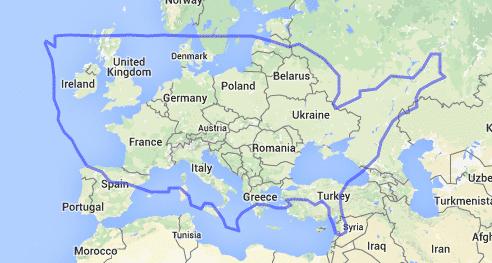 european size vs america