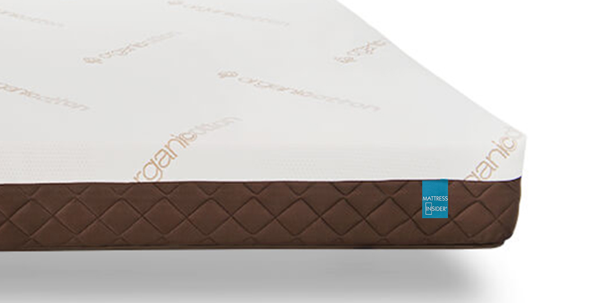 "8"" Luxury Gel Foam Mattress w/Organic Cotton"
