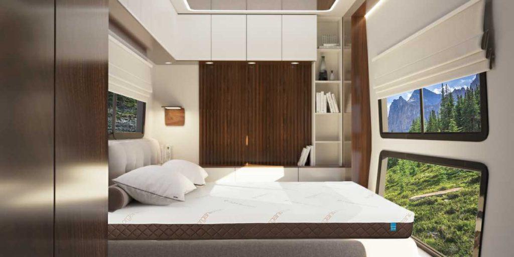 Luxury mattress in RV