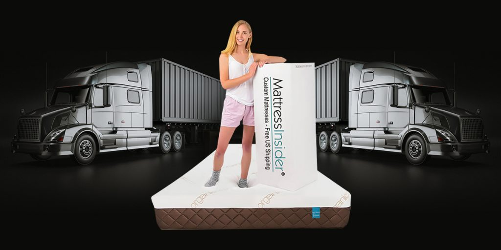 "8"" Luxury Gel Foam Truck Mattress w/Organic Cotton"