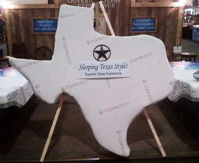 Texas Shaped Mattress