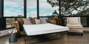 The Ovation Sofa Bed Mattress w/Cradle Contour Foam