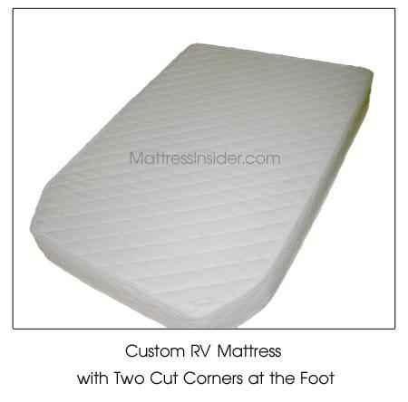 Custom Cut Corner RV Mattress