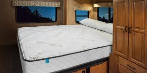 "8.5"" Natural Latex RV Mattress with Organic Cotton"