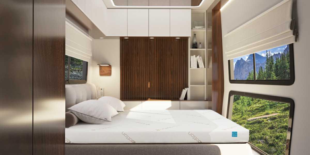 Sedona mattress in RV