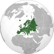 size of europe